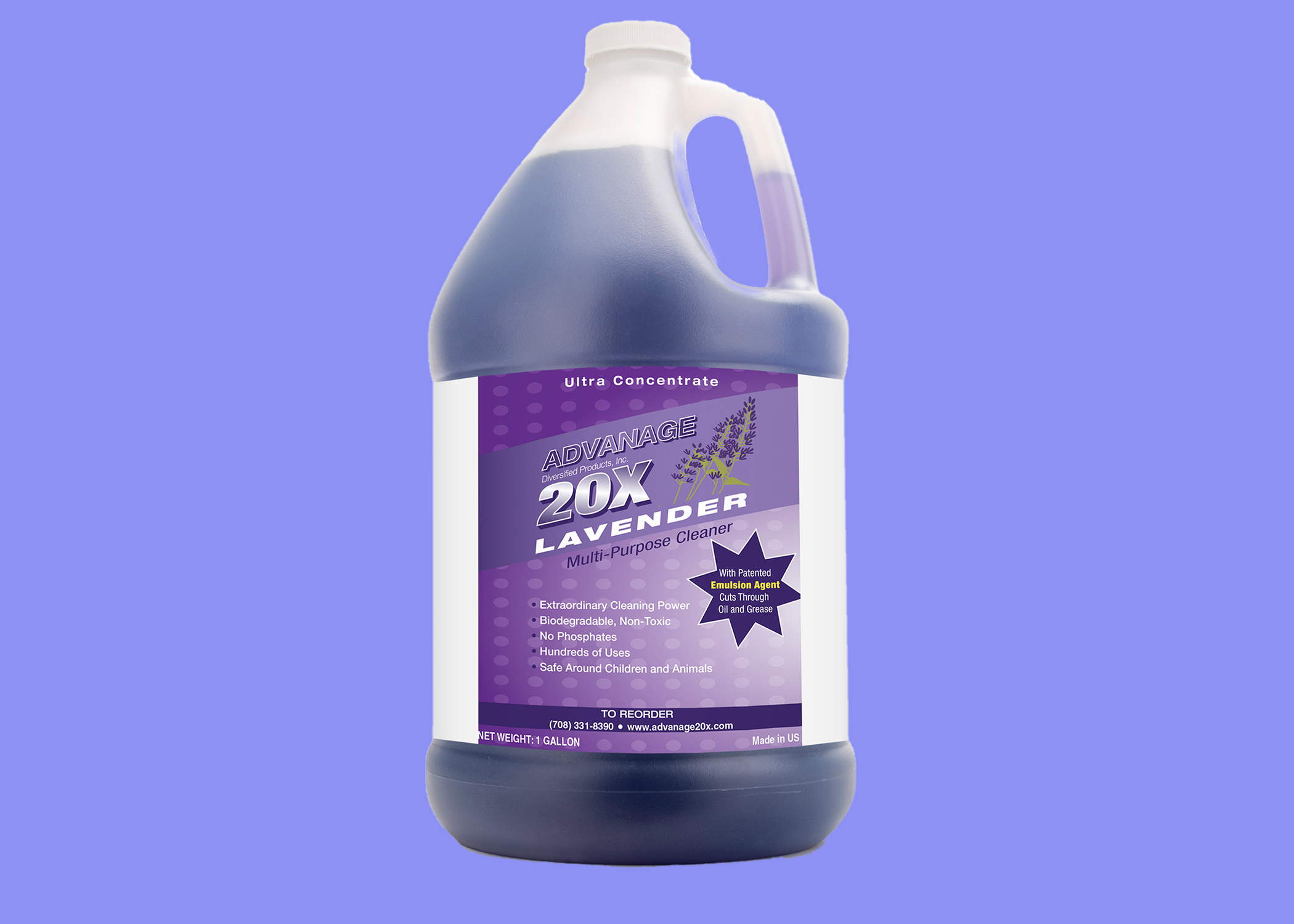 ADVANAGE Commercial Gallon Size